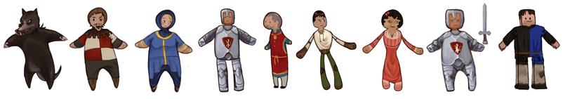 puppet character concept art